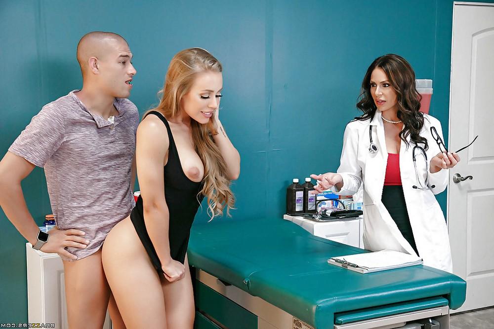 Секс в больнице с 2-мя титькастыи врачихами. Порно Секс больнице.